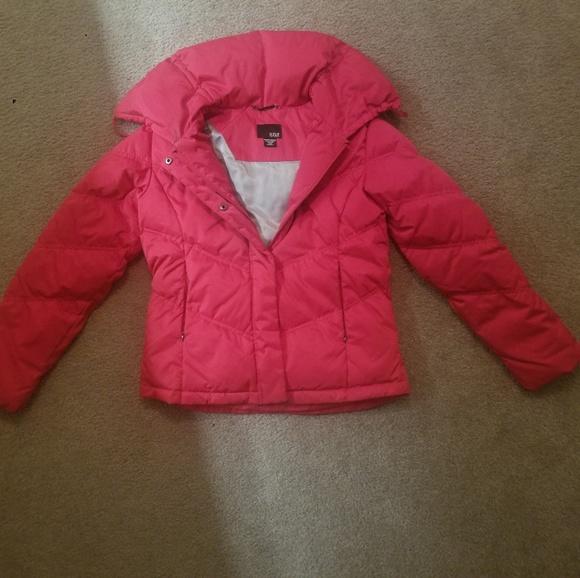 a.n.a Jackets & Blazers - Red Medium a.n.a winter down jacket